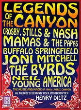 DVD: LEGENDS OF THE CANYON Mamas & Papas/CSN/Joni Mitchell/Byrds/Neil Young NM