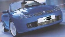 Zunsport MG TF 2002-2004 Front Stainless Steel Polished Grille Set