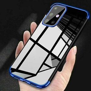Schutz Hülle für Samsung Galaxy A21s A41 A51 A71 A21 Bumper Case Cover Handy