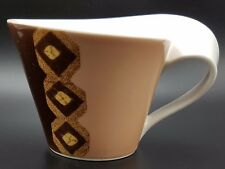 VILLEROY & BOCH NEW WAVE CAFFE Amboseli Motif Cappucino Tasse