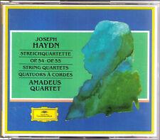 Amadeus quartetto: Haydn 6 preghiere-Quartette 2cd op.54 1-3 & 55 1-3 quartetto