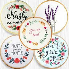 Embroidery DIY Cross Stitch Kits Embroidery Starter Kit Crafts Sewing Supplies