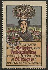 GERMAN ADVERTISING STICKER-70