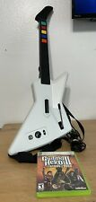 Xbox 360 Explorer Xplorer Guitar Hero Controller Red Octane GHIII Game TESTED