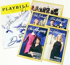 HoliBay! DIANA Broadway Principal Cast Signed Playbill + Postcards