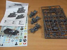 3 plastique Warhammer Chaos Space Marine Bikers partie assemblés non peinte (A-21)