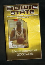 Bowie State Bulldogs--2005-06 Basketball/Track & Field Pocket Schedule