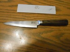 Shun VG0016 5.5 Inch Blue Steel Blue Petty Knife Free Shipping
