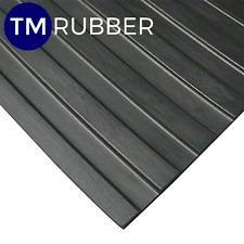 Rubber Big Wide Rib Mat Matting Flooring W2000mm X D5mm SOLD p/m FREE FREIGHT