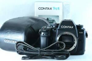[ Quasi Mint] Contax N1 35mm SLR Film Fotocamera Corpo (ny1493)