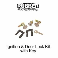 1962 1963 1964 Ford Ignition & Door Lock Cylinders Kit with Key