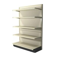 Used Gondola Shelving For Retail Display Or Storage Can Be Setup As Dual Side