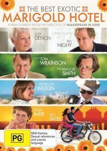 The Best Exotic Marigold Hotel (DVD, 2012) R4  NEW & SEALED   V6