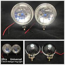 2Pcs 3.5inch Round Car Truck Headlight Fog Driving Light Reverse Lamp 12V 100W