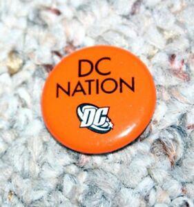DC Comics DC NATION Button Promo Comic Con