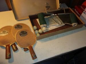 Vintage Harvard Table Tennis Set