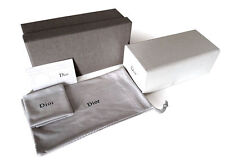 Christian Dior Sunglasses Eyeglasses Sunglass White Case Pouch Cloth Card New!