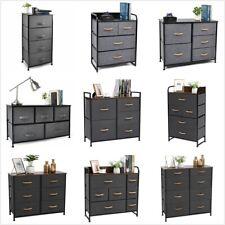 Cerbior Chest of Fabric Drawers Dresser Furniture Bedroom Home Storage Organizer