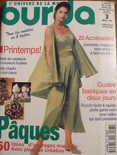 MAGAZINE BURDA MARS 1995  Neuf !!
