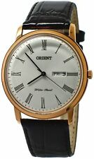 Orient Capital Version 2 FUG1R006W6 White Dial Black Leather Band Men's Watch