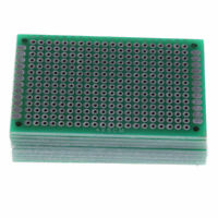 10PCS Prototype PCB Double Sided Board Circuit Breadboard 4x6 5x7 6x8 7x9cm