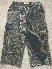 8335d85838d3e Browning Jr Boys Pants Wasatch Six-Pocket Camo Hunting Cargo Pant Realtree  SZ L