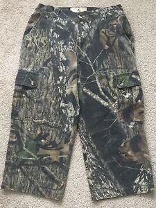 Browning Jr Boys Pants Wasatch Six-Pocket Camo Hunting Cargo Pant Realtree SZ L