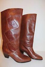 PETER KAISER Echtleder Vintage STIEFEL leather BOOTS 40 80er 80s TRUE VTG Leder