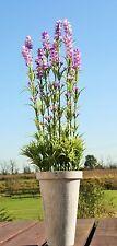 51 cm Lavendel im Übertopf Lavendeltopf Pokal Lavendelpflanze Kunstpflanze Deko