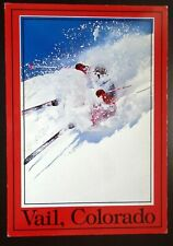 """1980s+ Downhill Skiing, """"Rocky Mountain Champagne Powder"""" Vail, CO"""