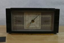 Vintage Airguide Weather Station Barometer Temp Humidity Art Deco 40's