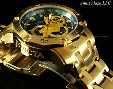 NEW Invicta Mens 18K Gold Plated Stainless Steel Scuba 3.0 Chronograph Watch !!