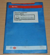 VW Passat B4 4 Zylinder Einspritzmotor AEK AFT Querstrom Werkstatthandbuch