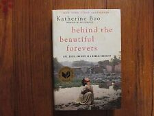 "KATHERINE BOO  Signed Book(""BEHIND THE BEAUTIFUL FOREVERS""-2012 Edition Hardback"