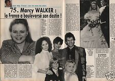 Coupure de presse Clipping 1990 Marcy Walker   (8 pages) Santa Barbara