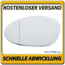 Spiegelglas für BMW 1er E81 E82 E87 E88 2004-2009 links Fahrerseite asphärisch