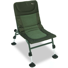 NGT Nomadic Carp Coarse Fishing Camping Chair Large Adjustable Mud Feet Tackle
