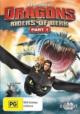 Dragons - Riders Of Berk : Part 1 DVD : NEW