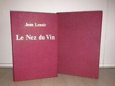 JEAN LENOIR/LE NEZ DU VIN 12 flacons d'aromes avec livret/ 1981/ tres bon état