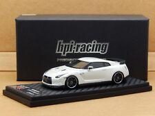 1/43 Nissan GT-R Spec V R35 Brilliant White Pearl HPI Racing Model 8438 V Rare