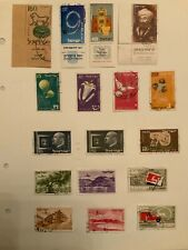 Stamps - Israel Approx 220 Stamps