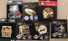 Set of 7 Houston Astros Vintage Logo Collector Pins BLOWOUT PRICE