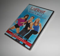 LaBlast Twist 'n Burn 15 Minute Workouts Louis Van Amstel Waistline Legs DVD NEW