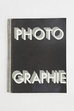 Photographie - arts et metiers graphiques