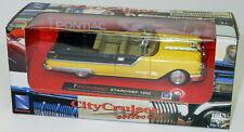 Pontiac Starchief 1955 -Yellow1/43 By City CruiserCollection Model Car refboxz25