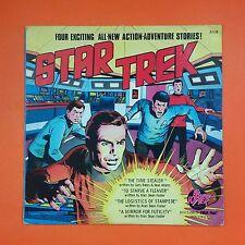 STAR TREK Four Exciting Stories 8168 LP Vinyl VG Cover VG+