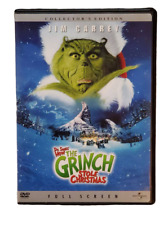 Dr Seuss' How the Grinch Stole Christmas Collectors Edition Dvd 2001 Full Screen