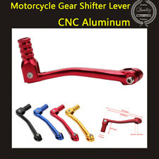 CNC Red Folding Aluminum Gear Shift Lever Fit Motorcycle ATV Dirt Bike Pit Bikes