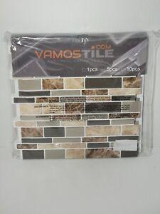"10 Sheets Peel Stick Kitchen Backsplash 12"" x 12"" Tile Backsplash 3D Wall Tiles"