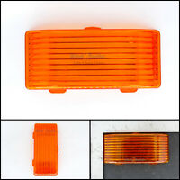 Replacement Amber LENS for Exterior RV PORCH LIGHT - Camper LENS Only Rectangle